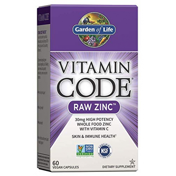 Garden of Life Raw Zinc