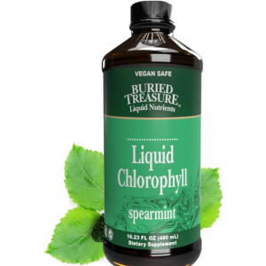 Buried Treasure Liquid Chlorophyll Mint Bottle