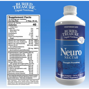 Buried Treasure Neuro Nector Supplement Facts