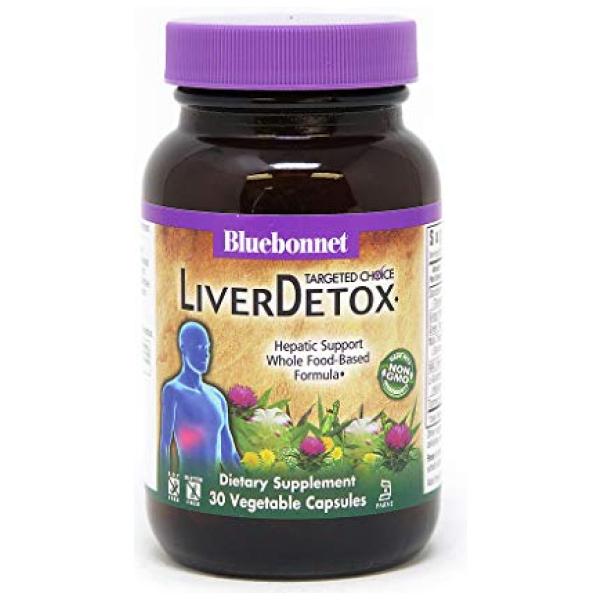 Bluebonnet Nutrition Targeted Choice Liver Detox Herbal Blend, 30 Count