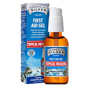 Silver Gel Sovereign Silver First Aid Gel – Homeopathic Medicine