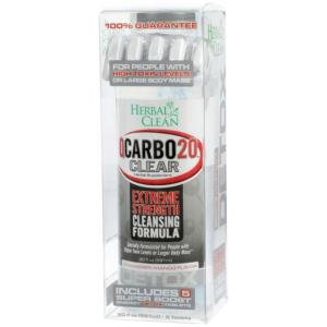 Herbal Clean Detox Qcarbo Strawberry mango