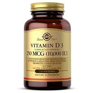 Solgar Vitamin D3 (Cholecalciferol) 250 MCG 10