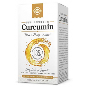 Solgar Curcumin Liquid Extract 60 softgels All in One Vitamins Fayetteville GA