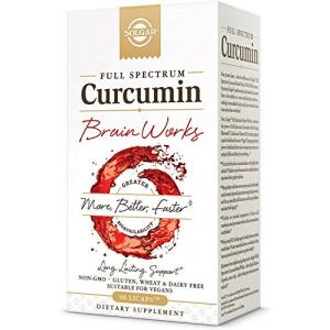 Solgar Curcumin Brain Works All in One Vitamins Fayetteville GA