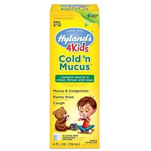 Hyland's 4 Kids Cold'n Mucus Relief Liquid Hyland's