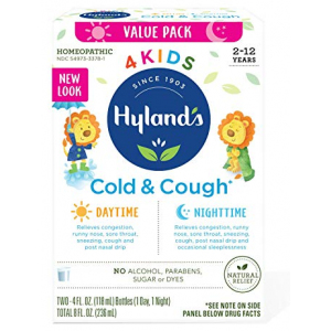 Hyland's Cough and Cold Day and Night Value Pack Hyland's