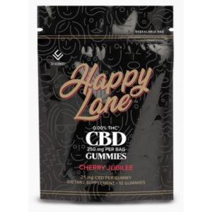 Happy Lane CBD Gummies Cherry Jubilee 25 mg 10 ct