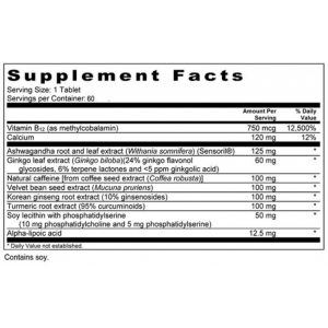 Diamond Mind by Diamond Herpanacine supplement facts