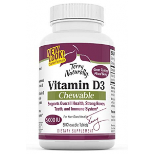 Terry Naturally Vitamin D3-125 mcg Cholecalciferol