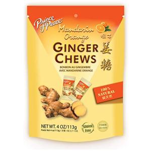 Ginger Chews with Mandarin Orange