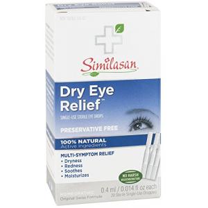 Dry Eye Relief Eye Drops Singles