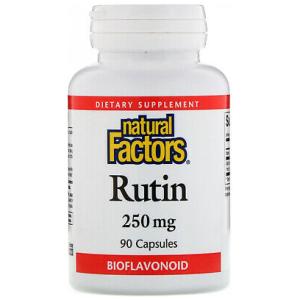 Natural Factors Rutin 250 Mg 90 Capsules