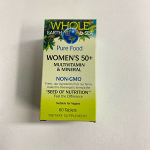 Whole Earth & Sea Women's 50+ Multivitamin