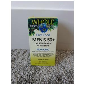 Whole Earth & Sea Men's 50+ Multivitamin