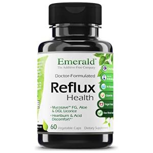 Emerald Labs Reflux Health - Acid Reflux Support Supplement
