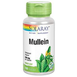 Solaray Mullein Leaf 330mg 100 CT