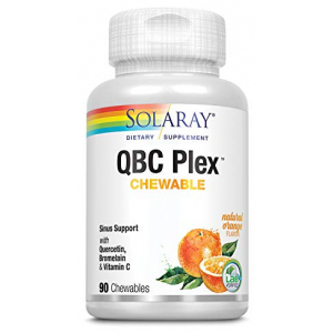 Solaray QBC Plex Quercetin & Bromelain Plus Vitamin C