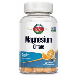KAL Magnesium Citrate Gummy 60 Gummies