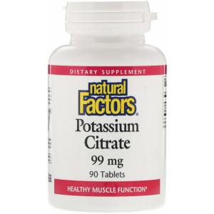 Natural Factors, Potassium Citrate