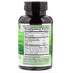 Thyroid Health by Emerald Labs supplement facts