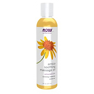 Now Arnica Soothing Massage Oil 8 oz