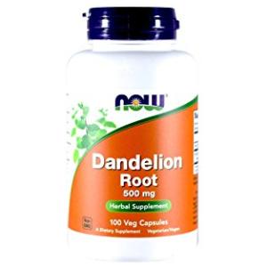 Now Dandelion Root 500m 100 Capsules