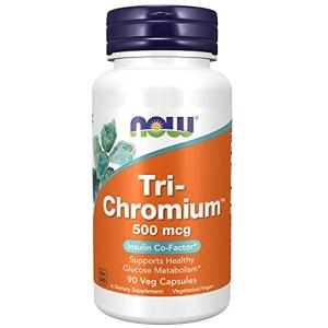 Now Tri-Chromiuma with Cinnamon 90 Veg Capsules