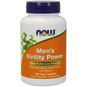 NOW Mens Virility Power 120 capsules