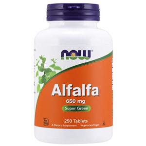 Now Alfalfa 650 mg source of Vitamin K