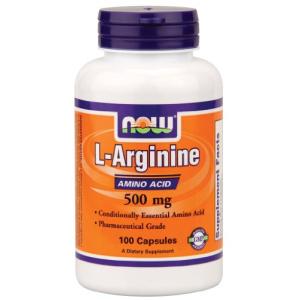 Now L-Arginine 500 mg - 100 Caps