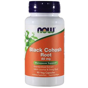 Now Black Cohosh Root 80 mg - 90 VegiCaps