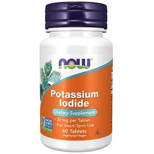 Now Potassium Iodide 30 mg 60 Tablets