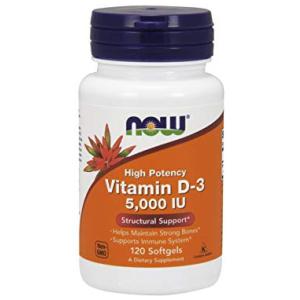 Now Vitamin D3 5