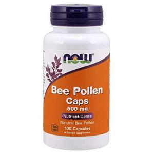 Bee Pollen 500 mg Natural Bee Pollen 100 Capsules