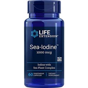 Life Extension Sea-Iodine Capsules 1000 mcg 60 Count