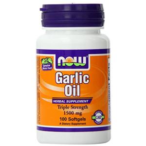 Garlic Oil 1500 mg 100 softgels