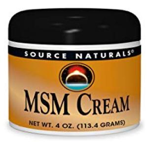 Source Naturals MSM Cream