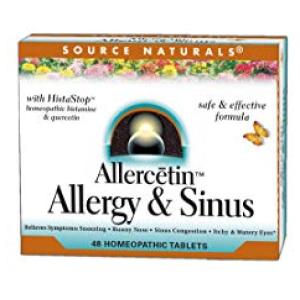 Allercetin Allergy & Sinus Homeopathic