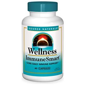 Source Naturals Wellness ImmuneSmart - Core Daily Immune Support - 60 Capsules