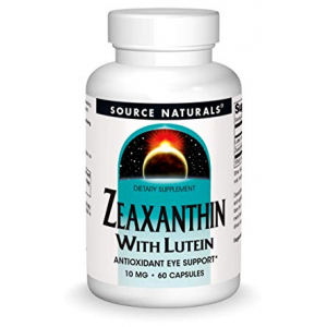 Source Naturals Zeaxanthin with Lutein 10 mg - 60 Tablets