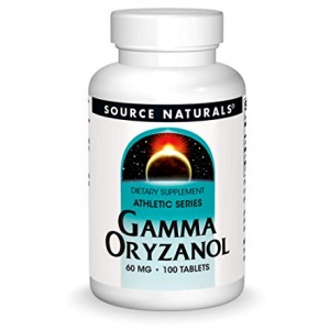 Source Naturals Gamma Oryzanol 60 mg Athletic Series Dietary Supplement - 100 Tablets
