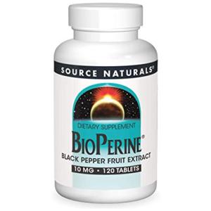 Source Naturals BioPerine - Black Pepper Fruit Extract