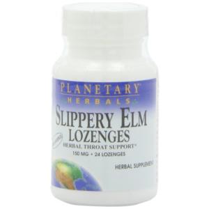 Planetary Herbals Slippery Elm Lozenges