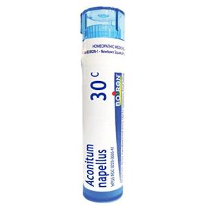 Boiron Aconitum Napellus 30C Homeopathic Medicine for Fever 80 ct