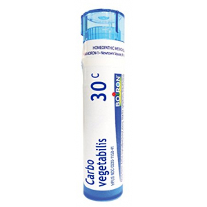 Boiron Carbo Vegetabilis 30C Homeopathic Medicine for Bloating and Gas 80 ct