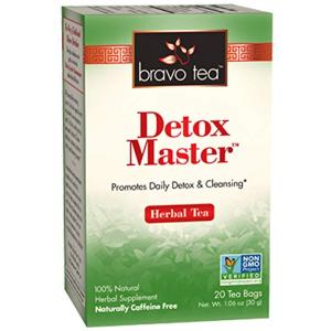 Bravo Tea Detox Master Triple Detox Herbal Tea Caffeine Free 20 ct