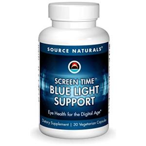 Screen Time Blue Light Support Source Naturals