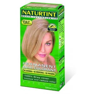 Naturtint 10A Permanent Light Ash Blonde Hair color Kit