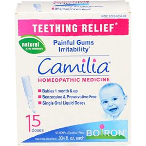 Boiron Camilia Teething Relief 15 Ct